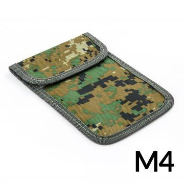 Shielding case for the phone to protect against interception and localization - military pattern