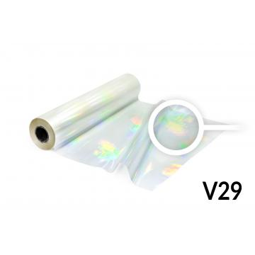 Hot Stamping foil - V29 hologram transparent
