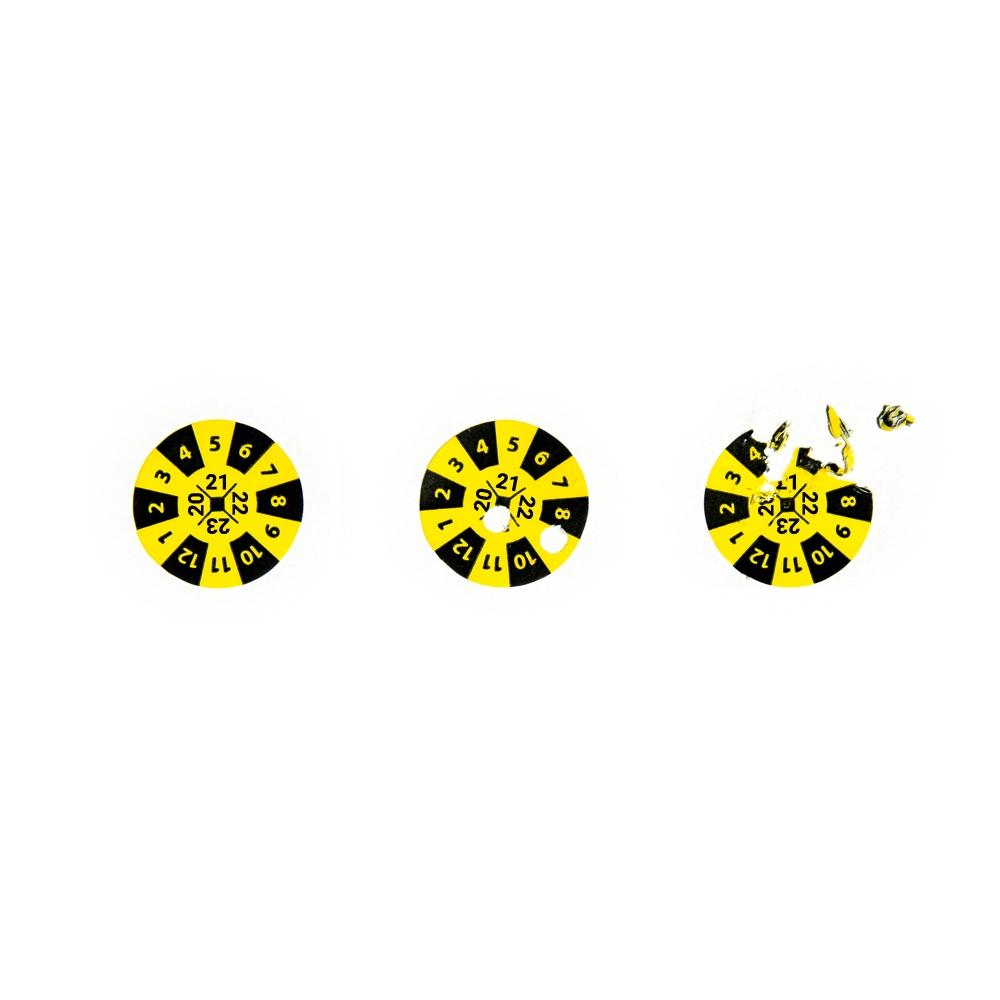 Calibration Seal 2020  2021  2022  2023  Yellow