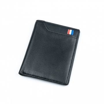Black wallet with RFID protection